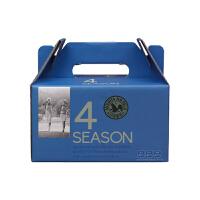 韩国进口山野 M&F 四季混合搭配坚果蔓越莓版 25克/袋 15袋礼盒装