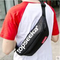 胸包 斜挎包 单肩包 胸包韩版运动腰包大容量单肩斜挎包男包女包学生背包收钱包包