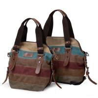 【支持礼品卡支付】女包单肩包手提包撞色帆布包百搭斜挎包条纹休闲包