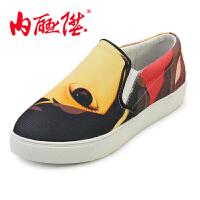 女鞋 大鱼海棠系列 春夏秋季女士时尚休闲单鞋 DY6105
