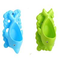 弗洛格海豚器宝宝座便器男童斗墙式小便池器儿童坐便凳A
