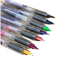 日本白金Platinum|透明杆彩色精致钢笔|草图笔 彩色 原装进口 7色