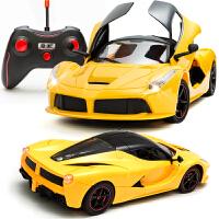 法拉利遥控车可开门儿童充电动漂移赛车兰博基尼大型玩具 汽车模型