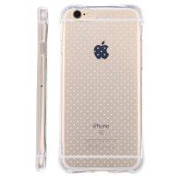 坚达 手机壳防摔软胶保护套全包边透明壳 适用于iphone6 4.7英寸手机软壳