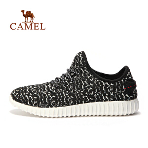 camel骆驼户外情侣越野跑鞋 男女款透气系带跑步鞋