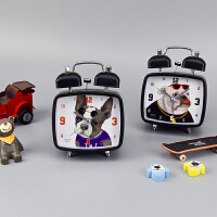 【当当自营】languo蓝果 LG-30047 宠物派对 方形小闹钟 颜色图案随机 单个销售