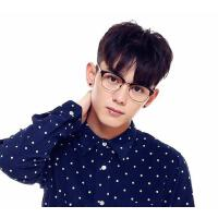 超轻眼镜架 防辐射手机平光镜 韧性时尚装饰平光镜 休闲舒适眼镜