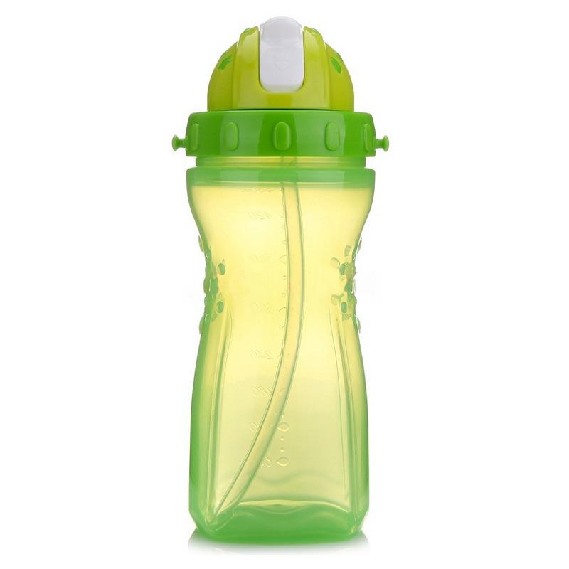 【当当自营】乐儿宝(bobo) 学生水壶升级版480ml 果绿色 水壶/水杯/吸管杯