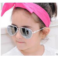 韩版时尚个性百搭儿童偏光太阳镜墨镜 精致耐磨耐用炫彩蛤蟆镜潮