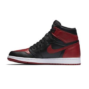 NIKE/耐克 AIR JORDAN 1 MID AJ1 男子高帮篮球鞋运动鞋休闲板鞋555088-001
