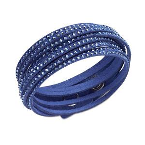Swarovski/施华洛世奇 女士蓝色时尚圆环系列经典手链 5037393 支持礼品卡支付