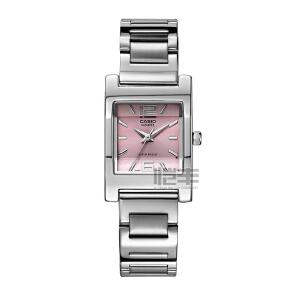 卡西欧(CASIO)手表 指针系列钢带方形休闲女士手表LTP-1283D-1A/LTP-1283D-4A/LTP-1283D-7A/LTP-1283D-2A