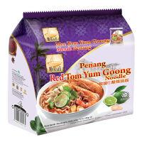 MyKuali 槟城 红酸辣汤面105克*4袋装420g马来西亚进口方便泡面 酸辣冬阴功味