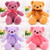 可爱抱抱熊公仔毛绒玩具泰迪熊小号婚庆抛洒布娃娃玩偶生日礼物女