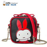 Miffy米菲 2016新款卡通斜挎单肩包韩版时尚女士迷你女包包袋潮