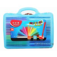 马培德Maped 36色塑料蜡笔 儿童蜡笔塑盒装 不沾手862014