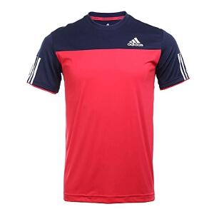 adidas阿迪达斯2016年新款男子经典网球系列T恤AX8148