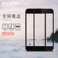 rock/洛克 苹果iPhone 6/6s钢化膜 4.7寸全屏蓝光保护膜 苹果iPhone 6S plus 高清耐刮花全屏钢化玻璃膜5.5寸抗蓝光贴膜