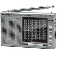熊猫6122 全波段收音机 便携式插卡收音机老年人收音机 插卡MP3校园广播收音机