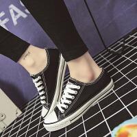 四季青款低帮女式帆布鞋透气款学生女鞋韩版鞋纯色帆布鞋女基本款