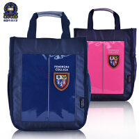 牛津大学小学生手拎包补习袋男女童手提袋儿童斜挎包包时尚美术袋