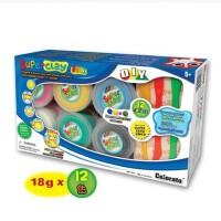 卡乐淘12色超轻纸粘土3D儿童彩泥太空泥模具套装橡皮泥无毒儿童DIY粘土,幼儿园DIY产品