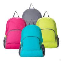 韩版亮彩便携折叠双肩包 多功能背包旅行包出差旅行收纳包