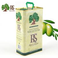 RS 牌特级初榨橄榄油 3L铁桶 西班牙进口 原瓶原装进口