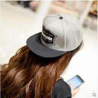 帽子 嘻哈帽 棒球帽 女韩版遮阳防晒帽男士情侣嘻哈街舞棒球帽平沿帽滑板帽潮