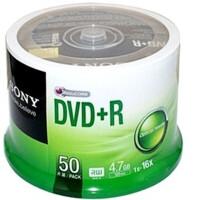 陆捌壹肆 SONY DVD+R空白刻录光盘 50P桶装/简装 索尼DVD刻录光碟(一桶50片装)