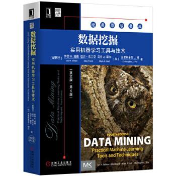 数据挖掘:实用机器学习工具与技术(英文版 第4版)