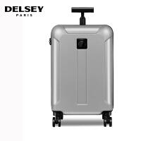 【促】DELSEY法国大使拉杆箱24寸新品静音万向轮旅行箱 行李箱硬箱