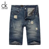 CKJ 短裤 牛仔裤 男士 Calvin Klein Jeans夏季新款 40-5-3-MB0154