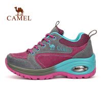camel骆驼户外女款徒步鞋 耐磨透气徒步鞋
