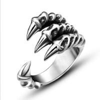 戒指男士 钛钢指环韩版潮男单身戒子饰品配饰
