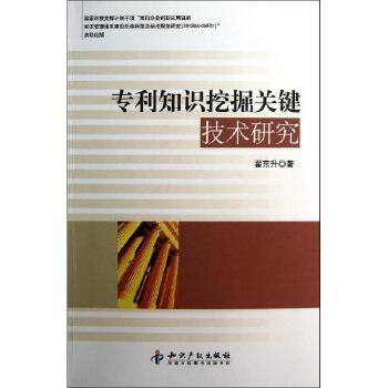 专利知识挖掘关键技术研究
