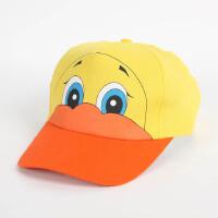 大贸商 小鸭子鸭舌帽 儿童卡通帽子 遮阳帽 帽围可调JB00055