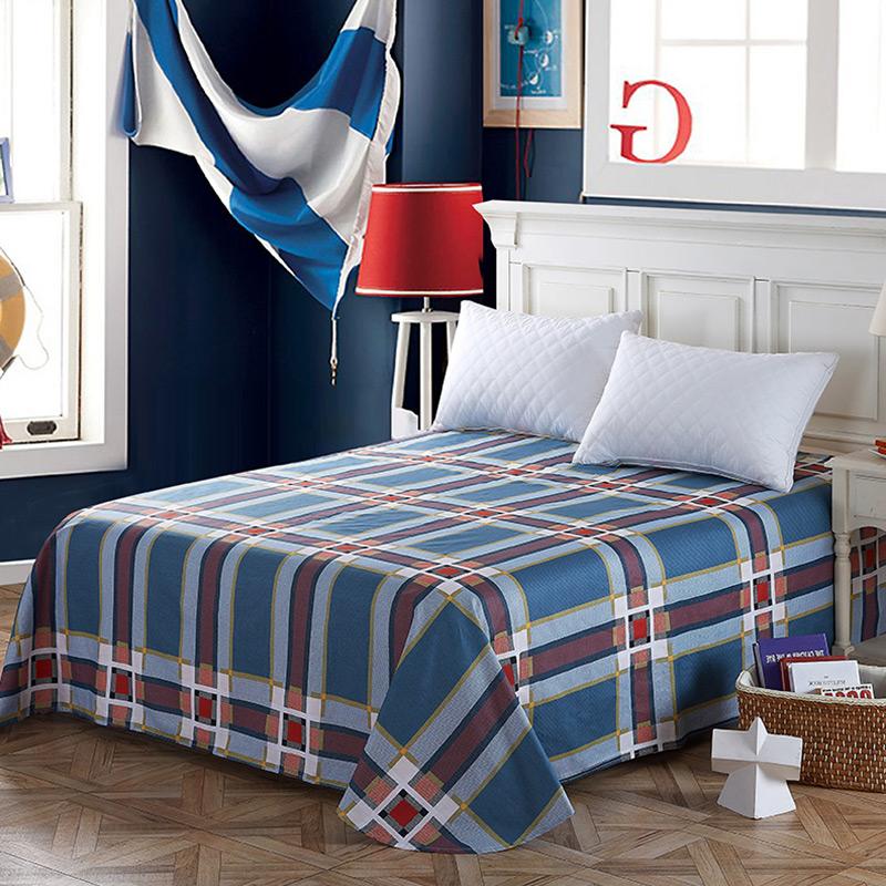 当当优品 纯棉斜纹床上用品 床单250*230cm 潮流前线当当自营 100%纯棉 不易褪色 0甲醛 透气防潮 大尺寸