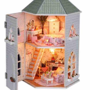模型/纸质模型 勤得利模型/纸质模型 diy小屋手工制作拼装模型房子