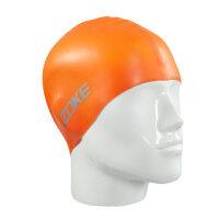 儿童硅胶泳帽 男女童游泳帽适合头围大 男女大童护耳防水